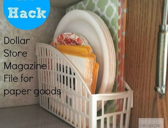 16 Clever Dollar Store Tricks To Combat Kitchen Clutter