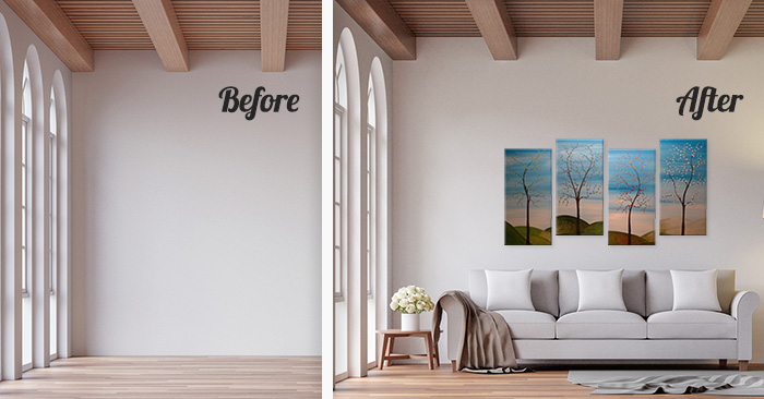 15 Before & After Photos That Prove the Power of Home Staging