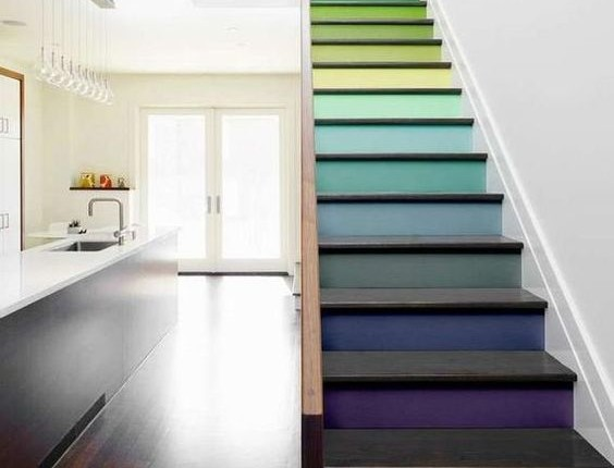 21 Satisfying Ways To Step Up Your Stair Game